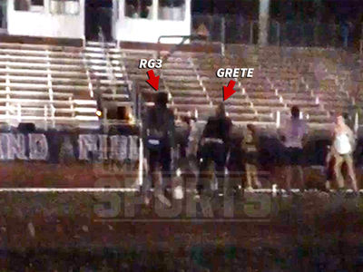 Robert Griffin III Restrained In Altercation At FSU Track (VIDEO)