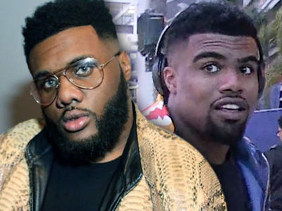Ezekiel Elliott's BFF's Felony Gun Charge Dropped ... For Now