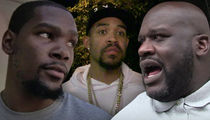 Kevin Durant Joins Shaq, JaVale McGee Beef ... Shaq Tells K.D. To Stay In His Lane