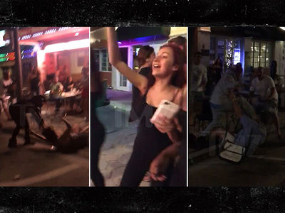 'Cash Me Ousside' Girl Picks Another Fight ... Outside a Bar (VIDEO)