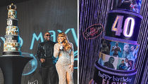 Floyd Mayweather's Birthday Cake Cost $3,000 ... Came With Crystals (Pics)