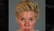 Jackie Warner's Thousand Yard Stare After Assault Arrest (MUG SHOT)