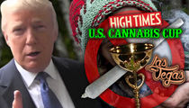 Vegas 'Cannabis Cup' Frowning On Weed After White House Threat (PHOTO GALLERY)