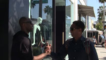 Terrell Owens Bumps Into Hall of Famer in Bev Hills ... 'You Belong In Canton' (VIDEO)