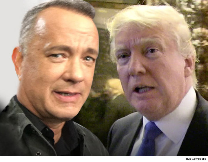 Tom Hanks Doesn T Want The White House Press Corps Sleeping On Donald Trump So He Took Precautions To Prevent Just That With Espresso
