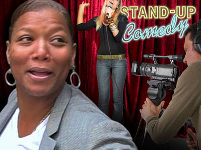 Queen Latifah Doing Stand-Up Comedy for Reality TV (VIDEO)