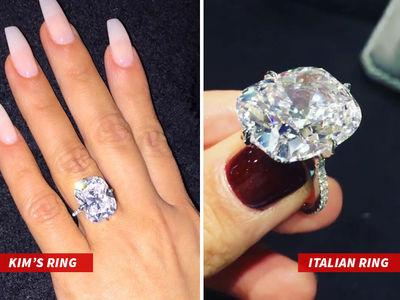 Kim Kardashian West's Stolen Ring Not So Unique? Similar Massive Stone Surfaces (PHOTO + VIDEO)