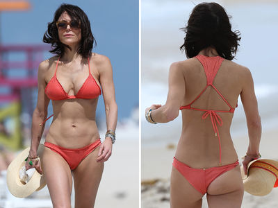 Bethenny Frankel Hits The Beach In Miami (PHOTO GALLERY)