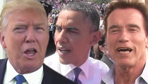 Trump Lashes Out, Obama Wiretapped Me, Arnold Got Fired