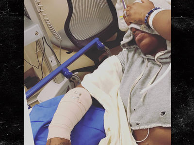 Fantasia Barrino Burned Arm in Tour Bus Vaporizer Accident (PHOTO)