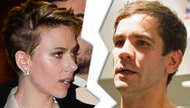 Scarlett Johansson Ends Speculation, She's Getting Divorced