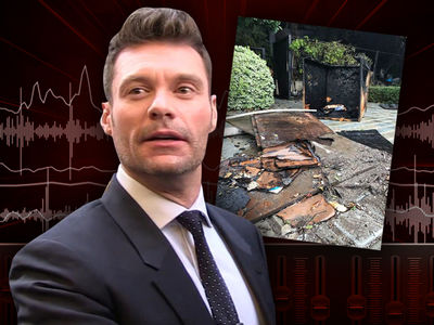 Ryan Seacrest's Neighbors Reported 'Huge Flames' During Driveway Fire (AUDIO)