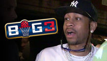 Allen Iverson Names His New 3-On-3 Team ... SHOUT-OUT TO JOHN RITTER!