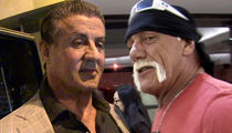 Hulk Hogan Put 3 Guys In Hospital During 'Rocky III' ... Says Sly Stallone