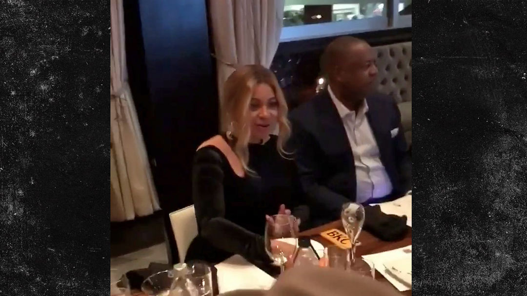 Beyonce Blesses Rodney Peete You May Dine At My Table Video
