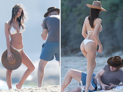 Emily Ratajkowski's Boyfriend Takes Pics of Her in the 'Bu (PHOTO GALLERY)