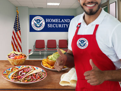 Homeland Security Seeks Catering Services for Detainees at Mexican Border