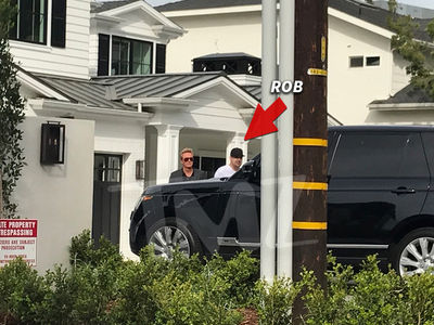 Rob Kardashian Needs OUT of Kylie's Crib, Checks Out Mansion of His Own (PHOTO + GALLERY)