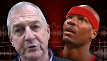 Jim Calhoun Spoke with Cliff Robinson ... 'He's Resting & Recovering' (AUDIO)