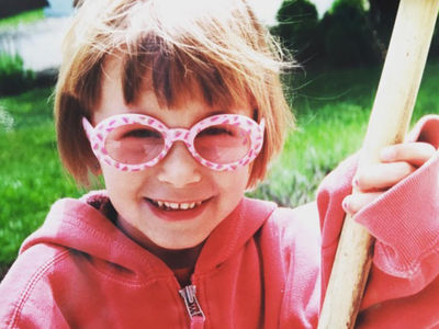 Guess Who This Gal in Sunglasses Turned Into!