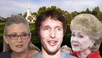 Carrie Fisher & Debbie Reynolds -- Public Memorial Will Include James Blunt Tribute Song, Gary the Dog