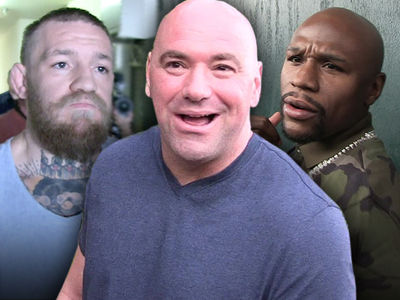 Dana White Says Conor, Floyd Fight Not Close ... No Target Date