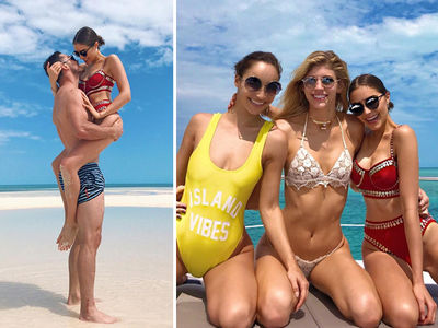 Danny Amendola's Smokin' Hot Bahamas Trip ... With Ex-Miss USA (PHOTO GALLERY)