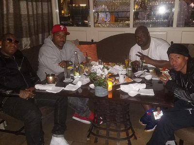 Nick Cannon & Birdman Team Up to Produce Basketball Flick (PHOTO)