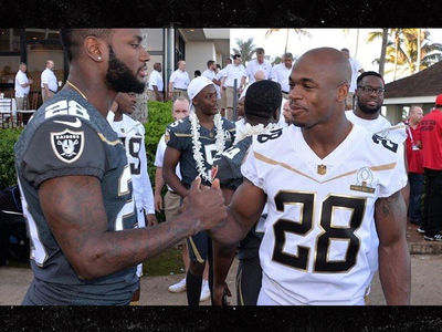Latavius Murray: I Won't Wear #28 On Vikings ... Too Much Respect for AP