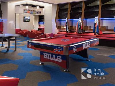 Buffalo Bills Locker Room Pool Table Fetches BIG MONEY At Auction (PHOTOS)