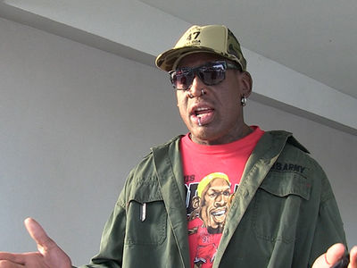 Dennis Rodman ... Hey Trump, Let's Talk North Korea (VIDEOS)