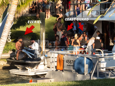 Ezekiel Elliott, Yacht Party Searched by Coast Guard (PHOTOS + VIDEO)