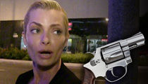 Jaime Pressly Gun Stolen in Break-In