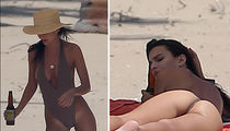Emily Ratajkowski Has Blurred (Tan) Lines (PHOTOS)