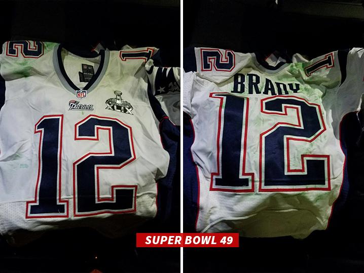 tom brady super bowl 49 white jersey