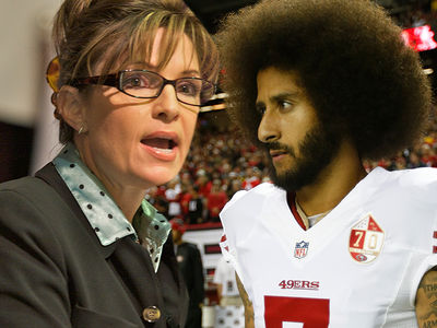 Sarah Palin Removes Kaepernick Article from Website ... 'Not Her Opinion'