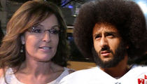 Sarah Palin Says Kaepernick's Meals On Wheels Donation Is Shameless 'Political Stunt'