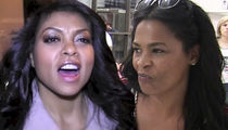 Taraji P. Henson, Nia Long at War on 'Empire' Set