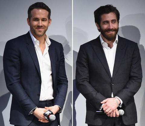 Ryan Reynolds (40) vs. Jake Gyllenhaal (36) Hottest star?