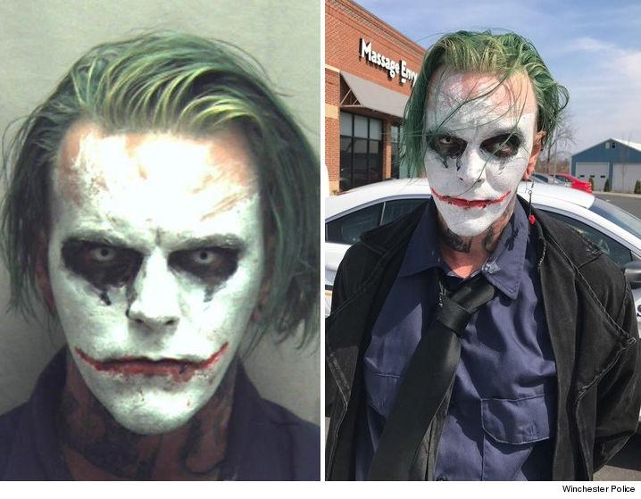 joker maske halloween