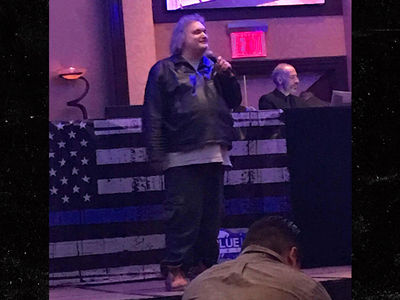 Artie Lange Still Cool With Cops, Performs NYPD Gig After Drug Bust (PHOTO)