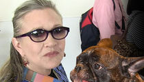 Carrie Fisher's Dog Gary Gets A New Forever, But Not With Billie