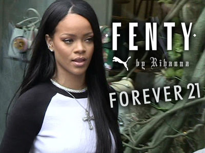 Rihanna's Shoes Are Getting Ripped Off, Puma Sues Forever 21 for Knock-Offs (PHOTOS)