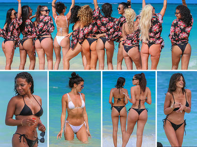 'WAGS' Stars Bachelorette Beach Party (PHOTO GALLERY)