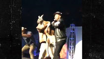 Mike Epps Shares Stage with Kangaroo, Some Fans Claim Animal Abuse (VIDEO)