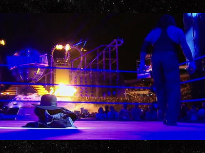 WWE's Undertaker Retires ... Leaves Gear In Ring After WrestleMania (PHOTO + VIDEO)