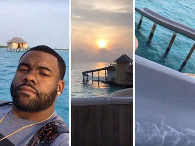 NFL's Mark Ingram's CRAZY BALLER HONEYMOON ... My Room Has a Waterslide!! (VIDEO)