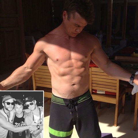 Luke Hemsworth -- brother to Liam and Chris Hemsworth
