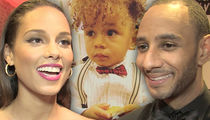 Swizz Beatz & Alicia Keys 2-Year-Old Son's Beatbox Is So Freakin' Adorable!!! (VIDEO)