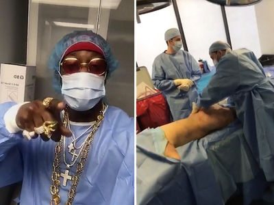 2 Chainz Sits in on Butt Lift Surgery, 'She Waking Up With a FAT Ass!' (VIDEO)